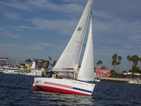 Beneteau First ASA 22 ASA 22 Underway