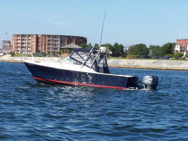 Black Watch 26 Sportfisherman Port view