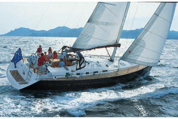 Beneteau Oceanis Clipper 523 Manufacturer Provided Image: Oceanis Clipper 523