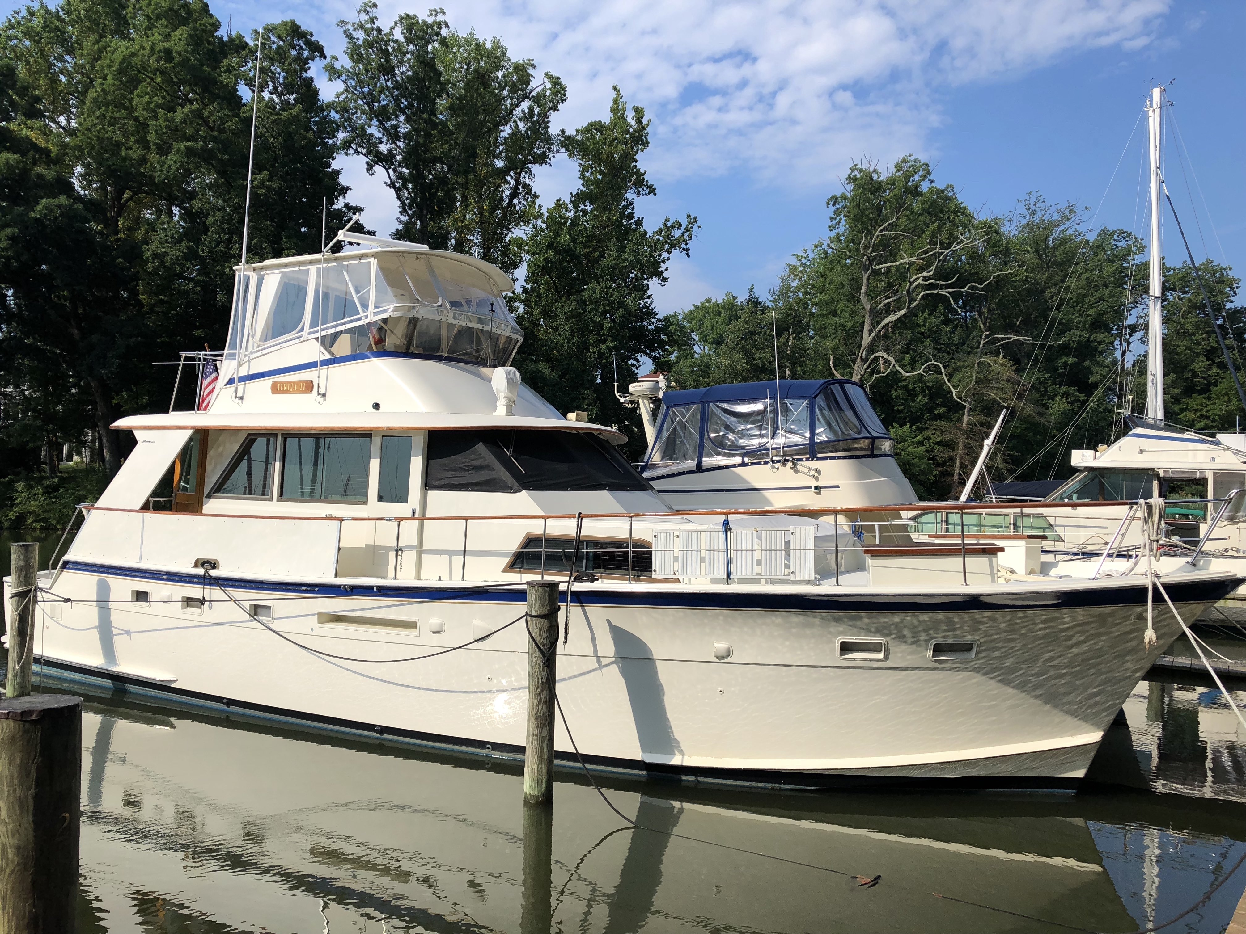 Hatteras 53 YachtFisherman