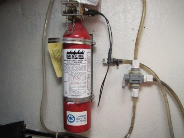 Gulf Craft Fire Extinguisher