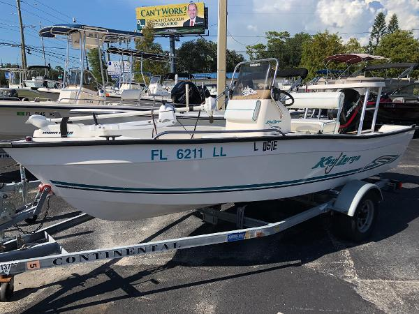 Key Largo 160 CENTER CONSOLE PACKAGE
