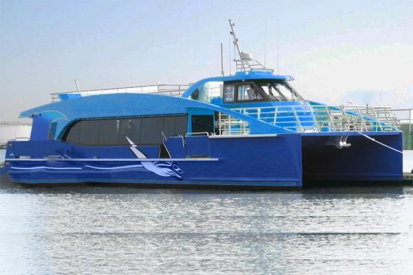 Catamaran Hi Speed 150-200 Passengers