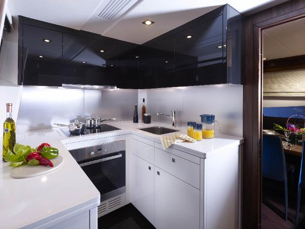 Sunseeker 80 Yacht Galley