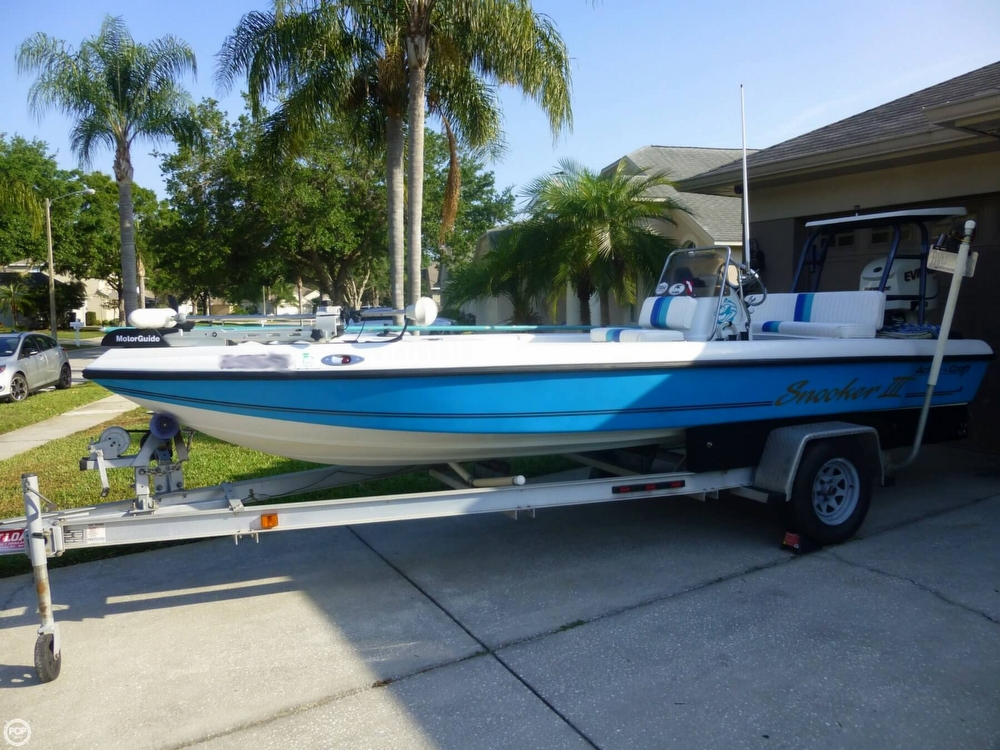 1998 action craft 1890 flats master palm harbor florida for Action craft boat parts