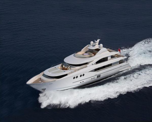 Johnson Mega Yacht