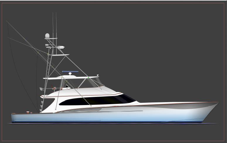 Jarrett Bay Custom Carolina Convertible