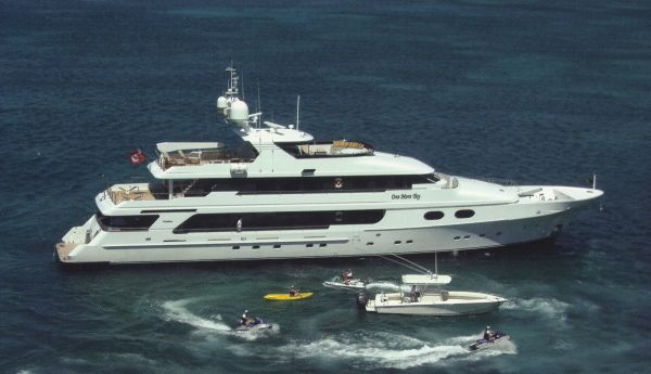Christensen Tri-Deck Motor Yacht Profile