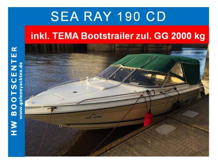 Sea Ray Sea Ray  190 CD mit Trailer VERKAUFT
