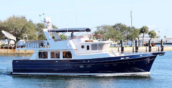 Selene 53 Long Range Ocean Trawler Selene Starboard Side