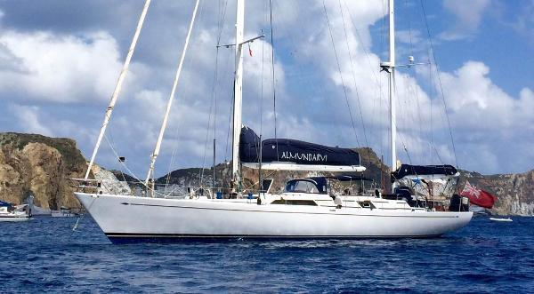 Frers aluminium 82' Ocean Cruising Ketch Almundarvi