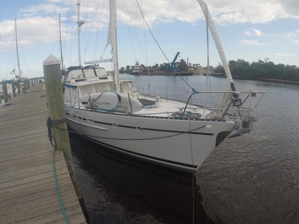 Ted Brewer 56' Ketch Rigged Aluminum Motorsailer