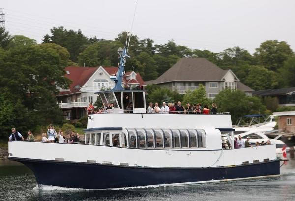 Custom 48'6 x 16' GRP 100 pax boat