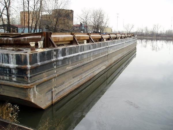 Deck Barge 100 Tons, 200 x 52  - Certified MT 100 ABS Deck Barge for Sale 2 years on Certs 200 x 52 x 14
