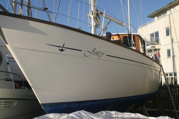 Moody Halbadier 36 Halberdier 36 Marcon hull