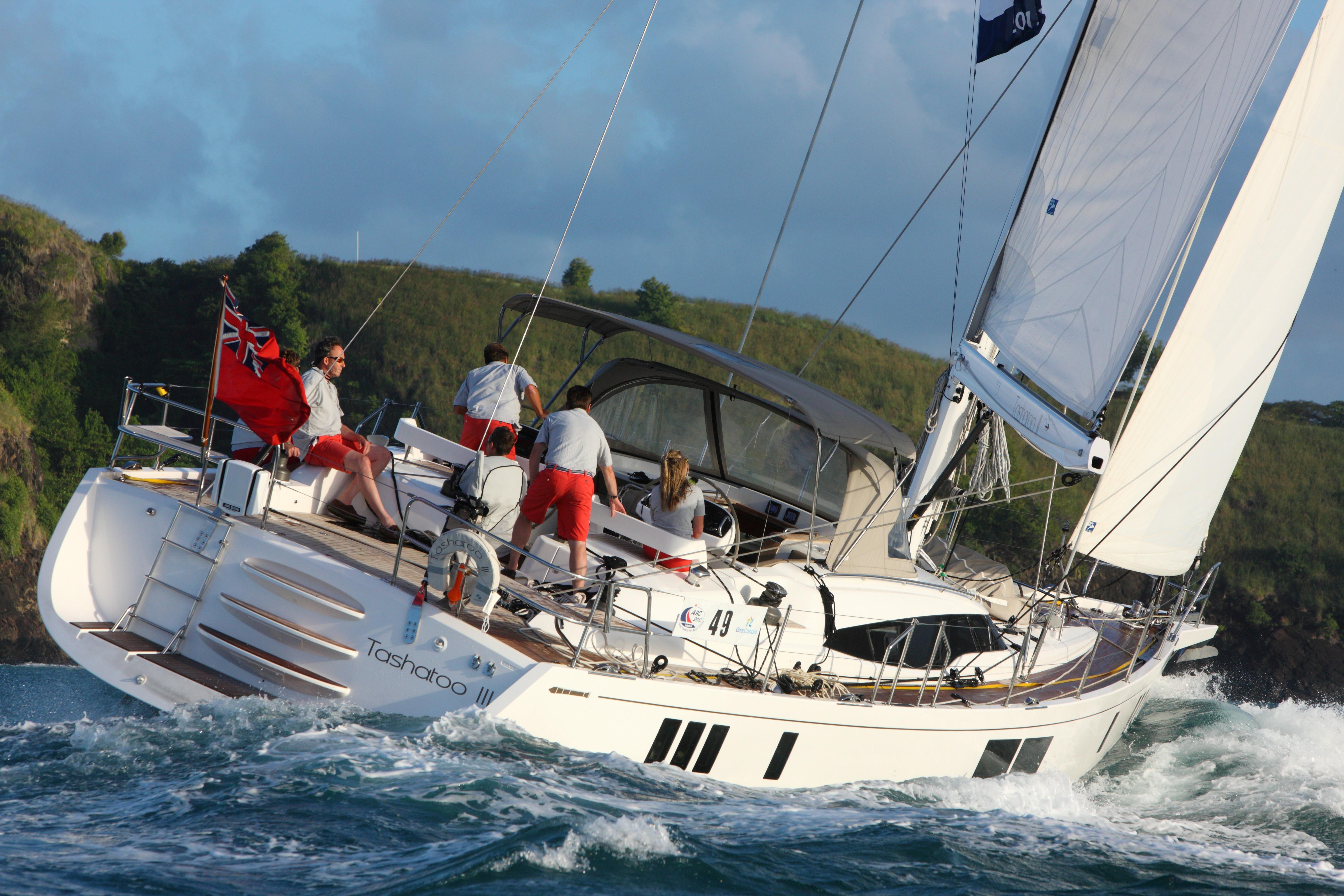 Gunfleet 58 For sale - Gunfleet 58 sailing