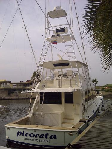 Viking Sport Fisherman Aft Profile