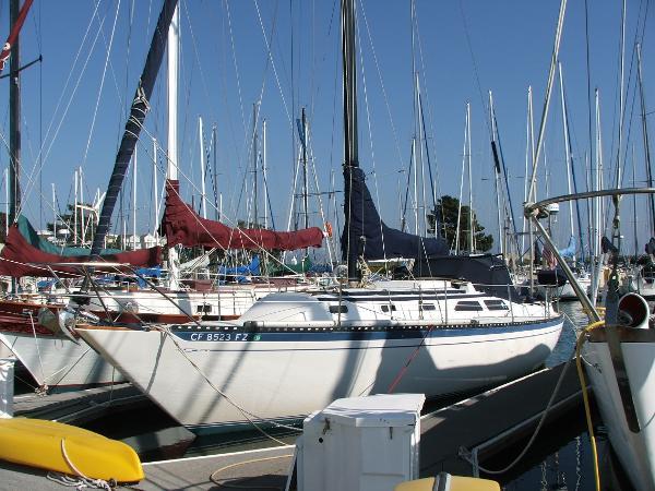 Islander 36 Sloop Port Bow