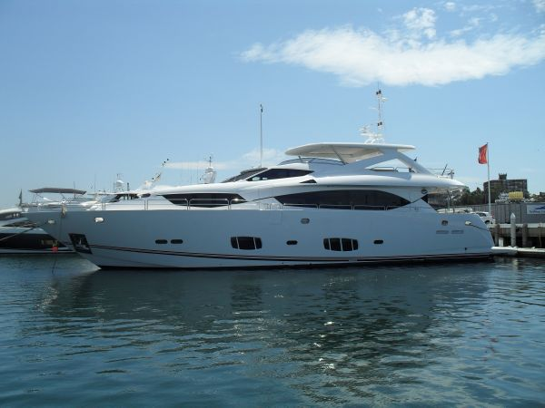 Sunseeker 30 Metre Yacht Exterior Side Profile