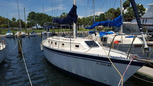 Watkins 33 Starboard Looking Aft