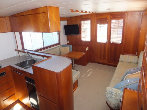 Saloon facing aft