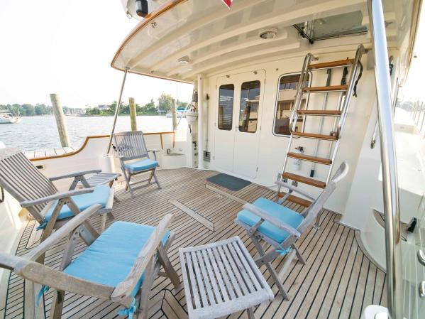 Covered Aft Deck