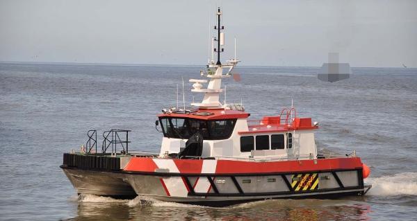 Crew Boat Wind Farm Vessel MCA Cat. 2,  60nm Offshore Crew Boat