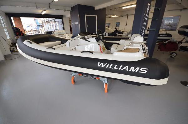 Williams Jet Tenders Turbojet 325 Sport 100HP