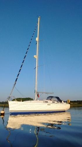 Dufour 385 Grand Large Moored