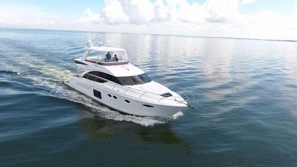 Princess 60 Flybridge Profile