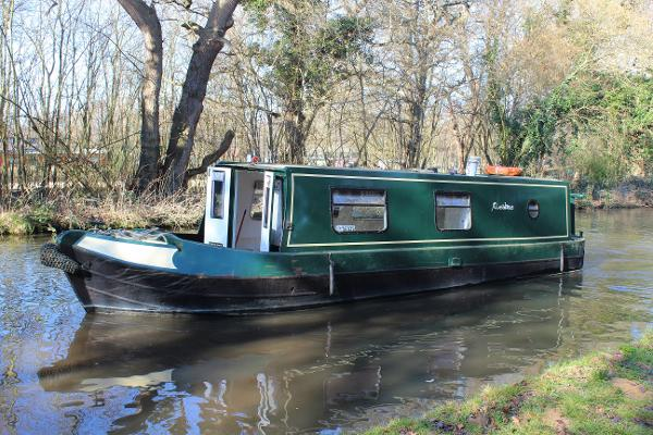 Narrowboat 30ft Trad