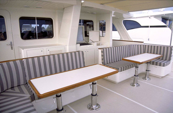 Boat Deck Sitting Area