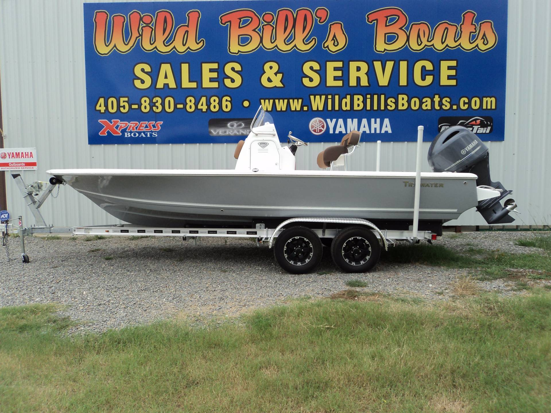 Tidewater Boats 2100 Bay Max Cc
