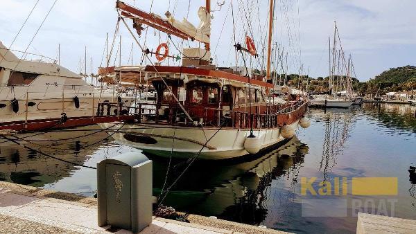 Custom Ship Yard Gulluk goelette caique GOELETTE