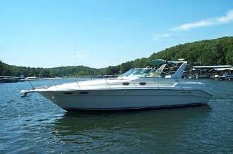 Sea Ray 330 Express Cruiser Profile