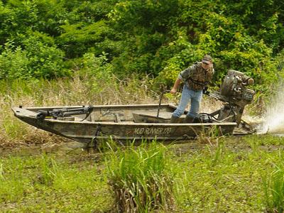 SeaArk Aluminum Fishing Boat Mud Runner 170