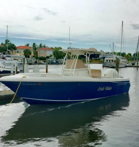Sailfish 240 CC Beautiful Boat, Waiting To Go Out!