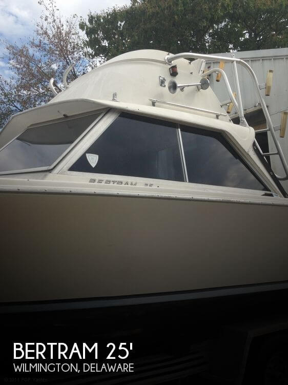 Bertram 25 1968 Bertram 25 Mark II Flybridge Sportfish for sale in Wilmington, DE