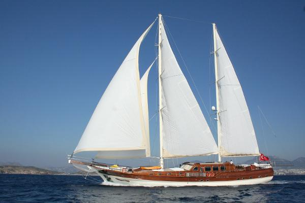 Gulet Turkish Under sail