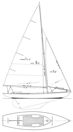 Sparkman & Stephens Manhasset Bay One Design