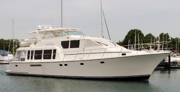 Pacific Mariner 65 Pilothouse Voyager