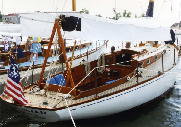 Sparkman & Stephens Brasil & Makinac Class Sloop by Fisher Boat Works Fisher Boat Works S&S Brasil & Makinac Class Sloop