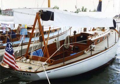 Sparkman & Stephens Brasil & Makinac Class Sloop by Fisher Boat Works Fisher Boat Works S&S Brasil & Makinac Class Sloop