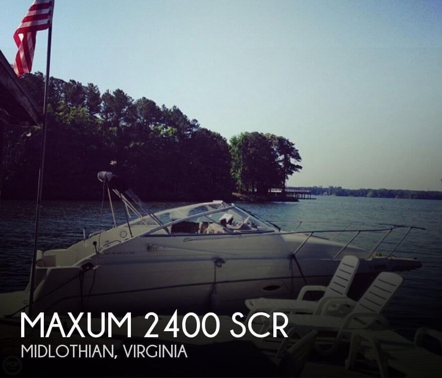 Maxum 2400 SCR 2001 Maxum 2400 SCR for sale in Midlothian, VA