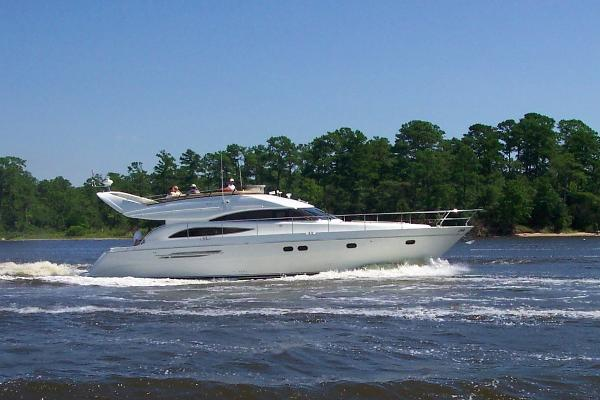 Viking Princess Sport Cruiser 61 Motor Yacht Viking Princess 61 Profile