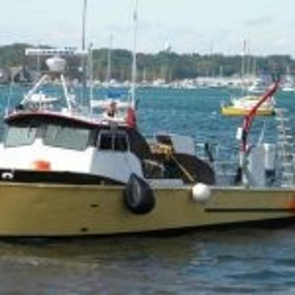 Commercial 35' Twin Screw Crew/Dive Boat