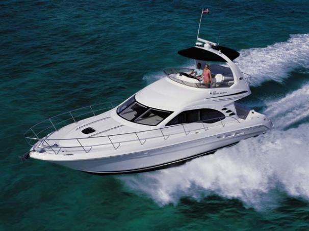 Sea Ray 420 Sedan Bridge Manufacturer Provided Image