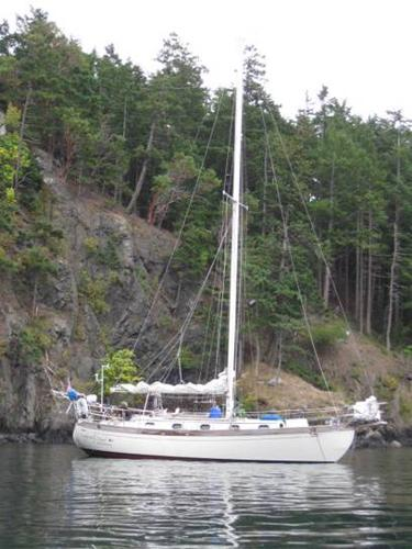 35' Ta Shing Baba Flying Dutchman Cutter