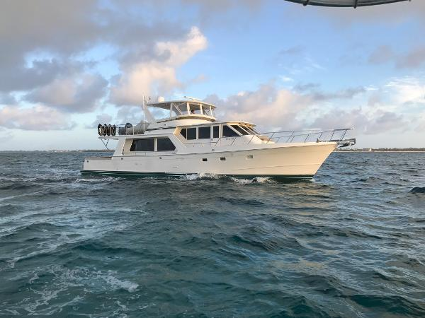 Offshore 62 Pilothouse