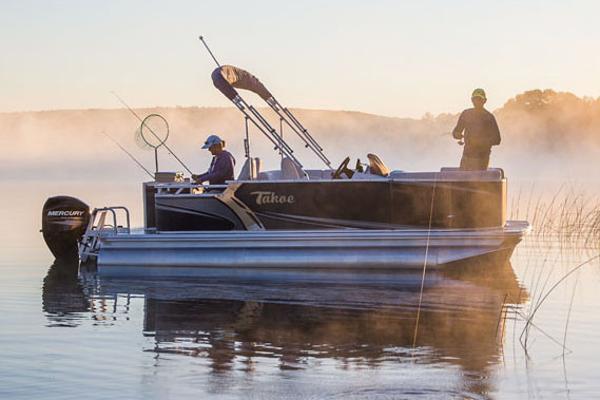 Tahoe Pontoon Sport Rear Fish - 16' Manufacturer Provided Image